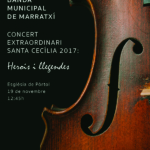 19N Concert extraordinari Santa Cecília