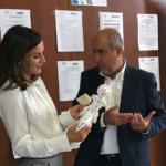 La reina Letizia ha inaugurat el curs de Formació Professional al centre integrat Son Llebre