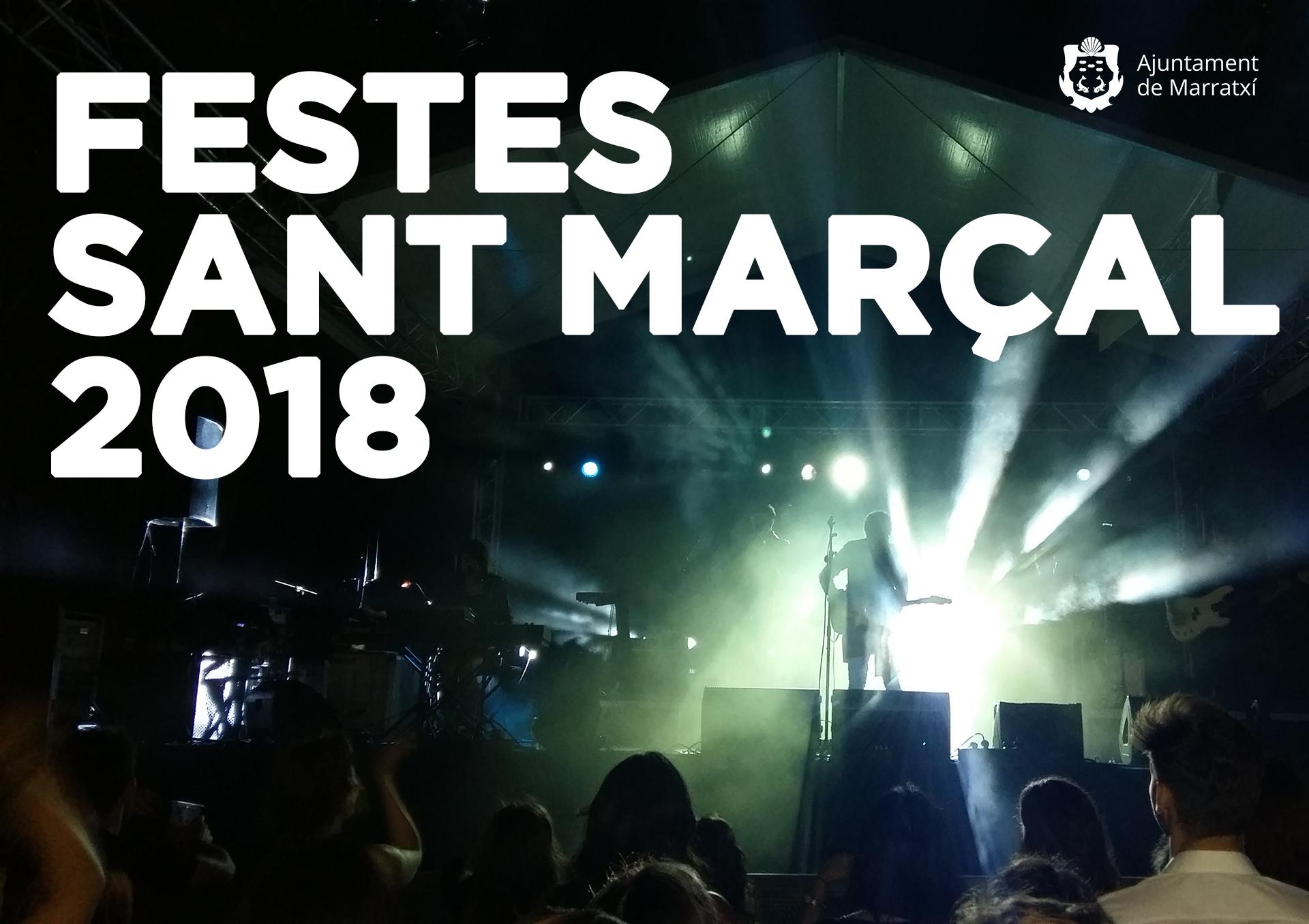 Festes Sant Marçal 2018 previa