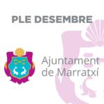 Marratxí celebrará el jueves 20 el pleno municipal ordinario del mes de diciembre