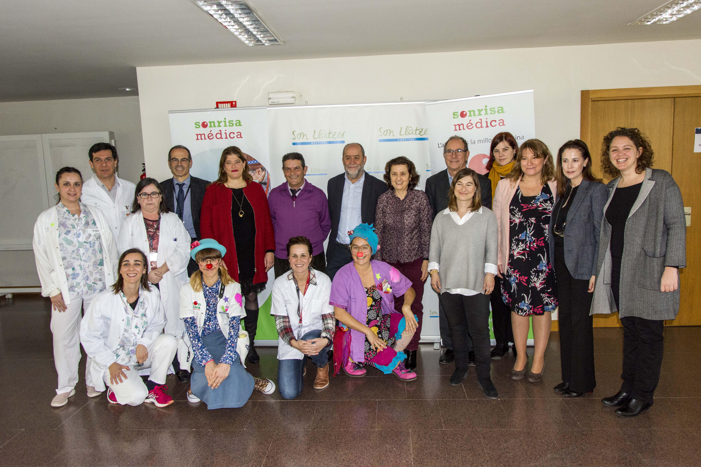 Benefactores Sonrisa Médica en HSLL