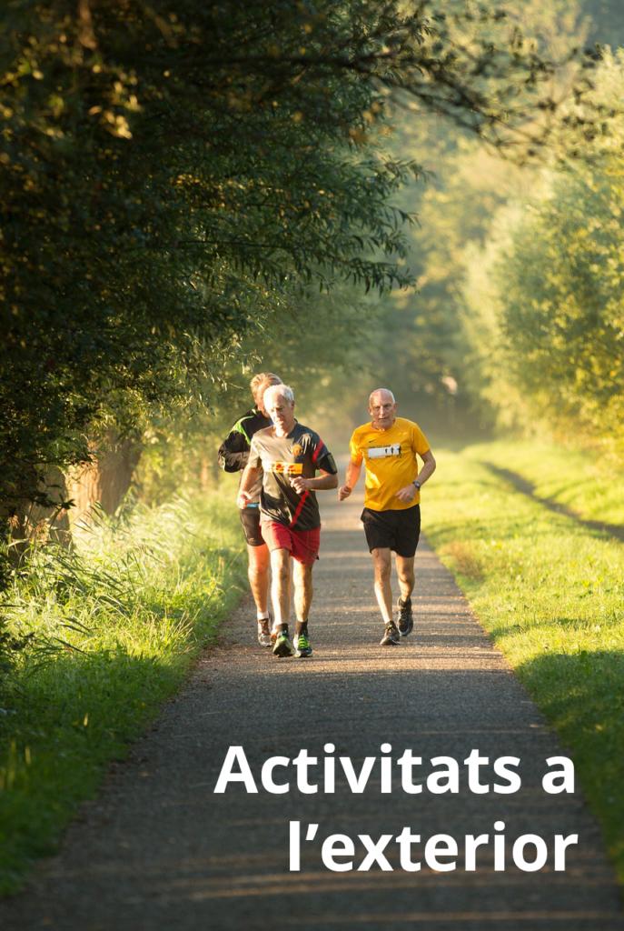 personas realizando actividades en exteriores
