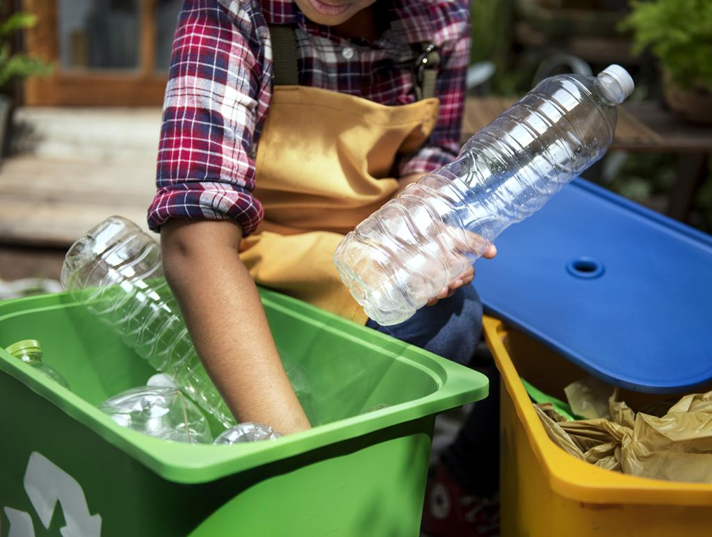 tanques de residuos reciclaje