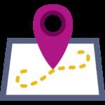 ícono de mapa