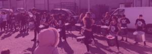 actividad con banda de tambores