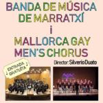 Concierto de la Banda Municipal de Marratxí y el Mallorca Gay Men's Chorus