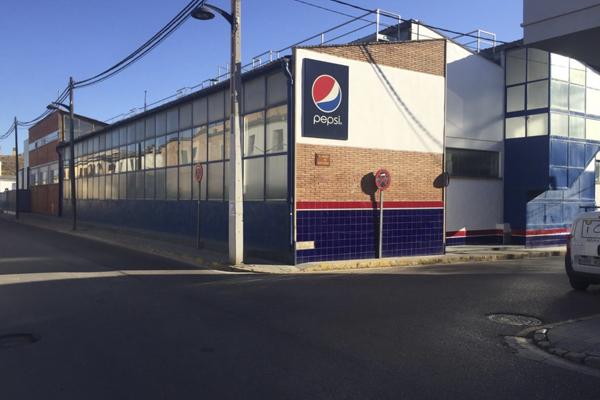 lateral antigua planta PepsiCo