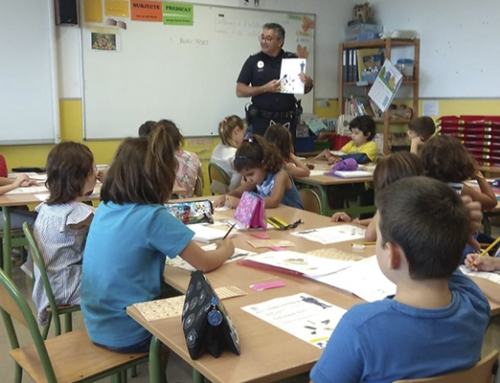 Comença el programa d'educació viària a les escoles, que arriba a 5.500 alumnes del municipi