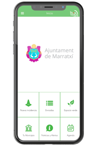 móvil app Ajuntament Marratxí