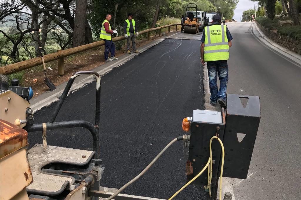 , L'Ajuntament inverteix més d'un milió d'euros a millorar l'asfalt, les voravies i el drenatge a diversos carrers del municipi