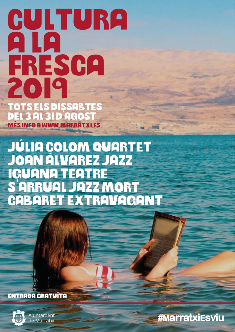 Poster Cultura a la Fresca