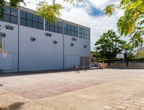 Esta semana empiezan las obras para la instalación de cubierta metálica en una de las pistas polideportivas exteriores de Pla de na Tesa
