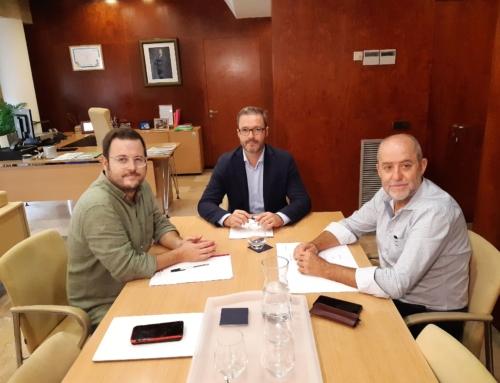 Marratxí i Palma es coordinen per impulsar iniciatives conjuntes i potenciar l'àrea metropolitana