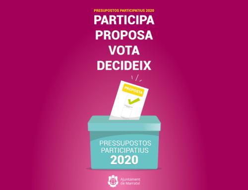 Los autores de las propuestas finalistas de los Presupuestos Participativos 2020 las defenderán en el Ayuntamiento
