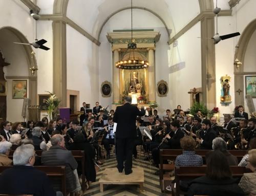 La Banda Municipal de Música oferirà diumenge el Concert de Santa Cecília a l'església de Pòrtol