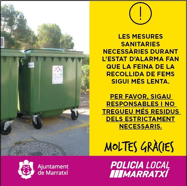 Imagen sobre medidas de la Policia Local