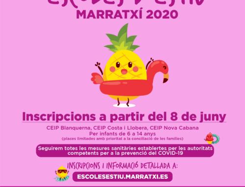 Marratxí abre el plazo de inscripción para las escuelas de verano municipales en tres centros públicos