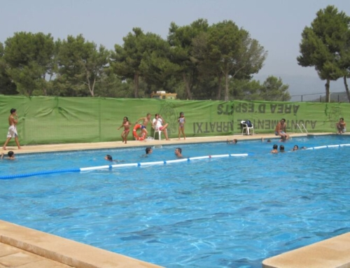 Reobre la piscina de Pòrtol després de l'avaria soferta dissabte passat