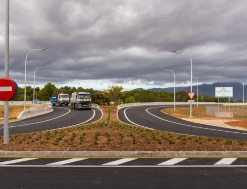 Ja està operatiu el nou accés al polígon de Marratxí des de l'autopista d'Inca