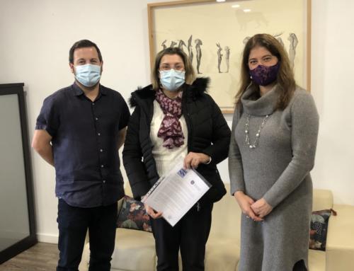 L'Ajuntament renova el conveni amb l'Associació d'Ajuda a l'Acompanyament del Malalt de les Illes Balears (ADDA)