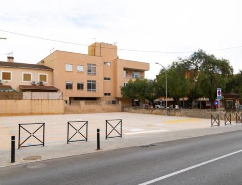 L'Ajuntament inaugura un nou aparcament gratuït de 16 places enfront del col·legi Es Liceu