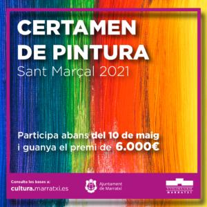 Inauguració de l'exposició del Certamen de Pintura de Sant Marçal 2021 @ Sa Cabaneta