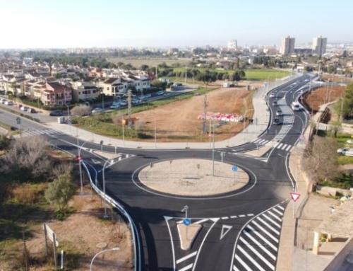Entra en funcionament el nou tram de la carretera vella de Bunyola, entre els termes municipals de Palma i Marratxí