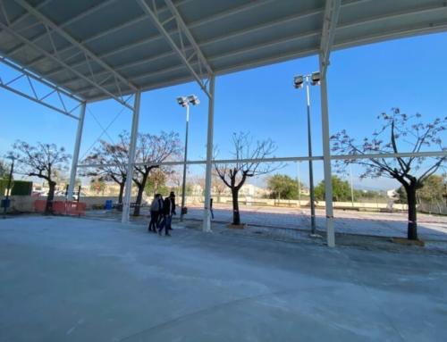 L'Ajuntament de Marratxí renova el paviment de les pistes exteriors del pavelló esportiu del Pla de na Tesa