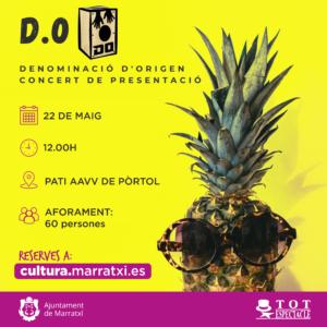 Concert - Denominació d'Origen @ PATI AAVV DE PÒRTOL