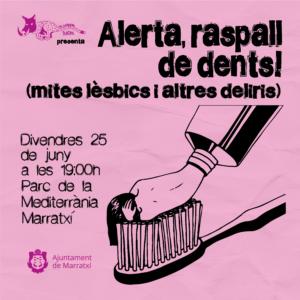 Alerta Raspall de dents, a càrrec de La Lioparda Teatre @ Sa Nova Cabana