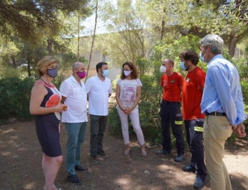 Ajuntament i Consell signen el conveni de cessió dels terrenys de la futura seu dels Bombers de Mallorca i el primer parc de Marratxí