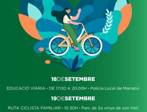 Marratxí celebra la Setmana Europea de la Mobilitat amb dues activitats ciclistes