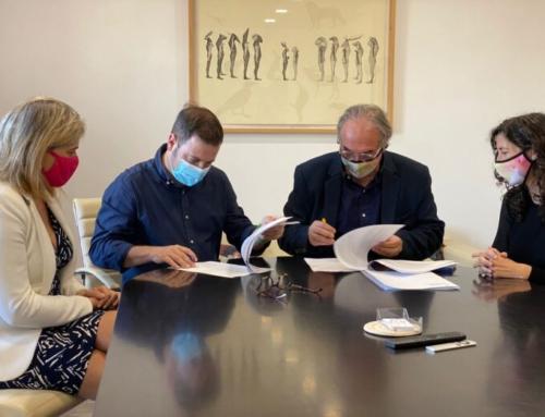 L'Ajuntament i la conselleria d'Educació signen el conveni per a la creació d'una escoleta de 0-3 anys a Marratxí
